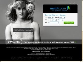 Extra Large Thumbnail of Match.com Website